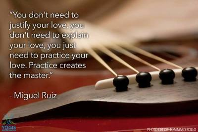 Practice your love